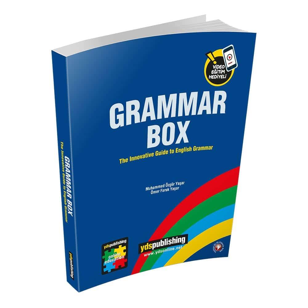grammar box - Grammar Box – İngilizce YDS, YDT, YÖKDİL – 4 Ay Video Anlatım Hediyeli