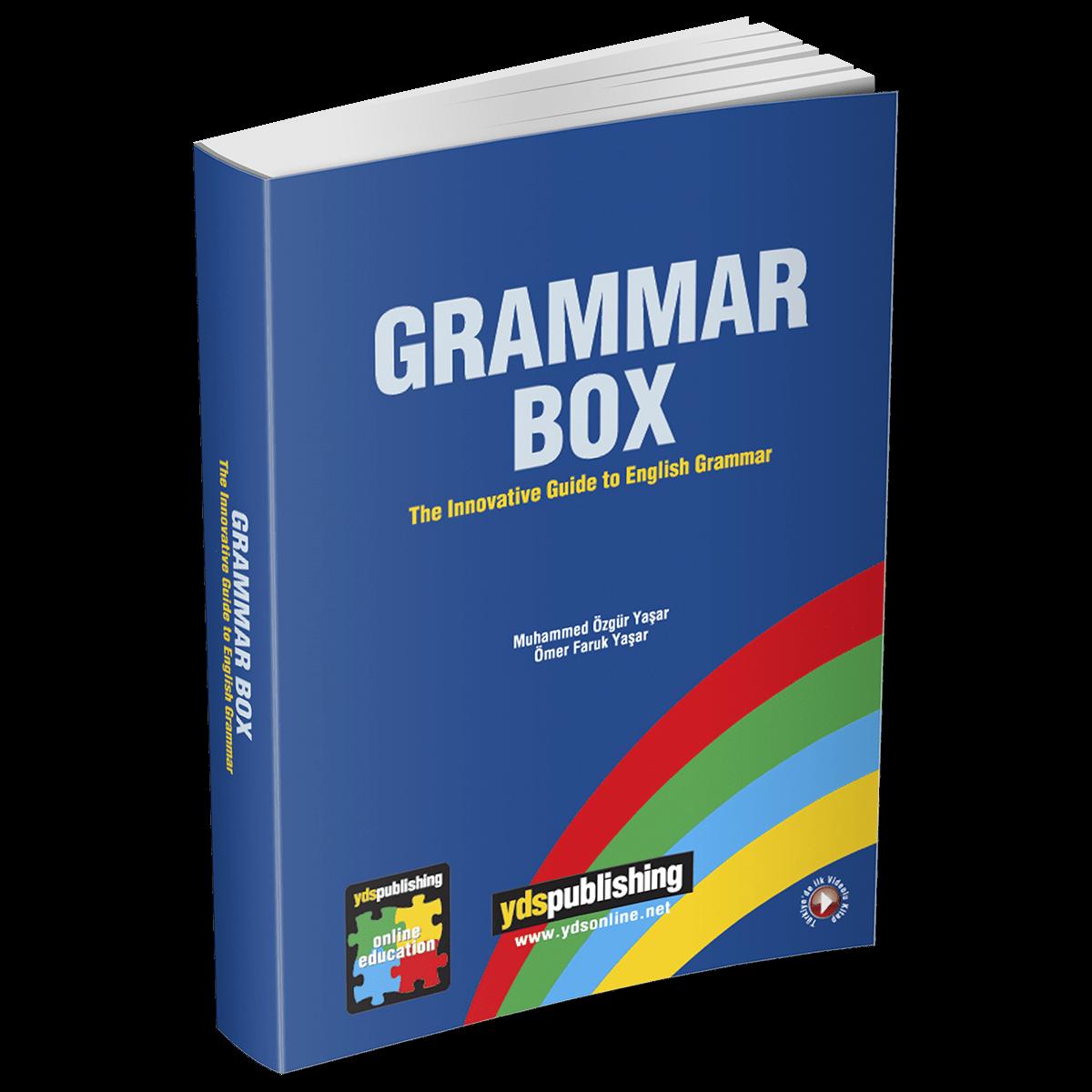 Grammar Box grammar box -  Grammar Box – YDS, YKS, YÖKDİL'in Tüm Gramer Konuları + 3000 Soru