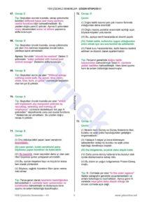 yds Çözümlü denemeler -  YDS Çözümlü Denemeler (15'li) – Açıklamalarıyla 15 deneme sınavı