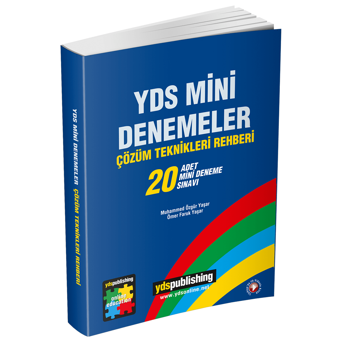 YDS Mini Denemeler (20'li) yds mini denemeler - YDS Mini Denemeler (20'li) – 40'ar soruluk 20 Deneme Sınavı