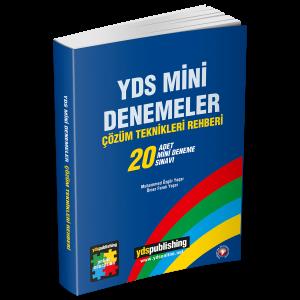 YDS Mini Denemeler (20'li) yds kitapları -  Ana Sayfa