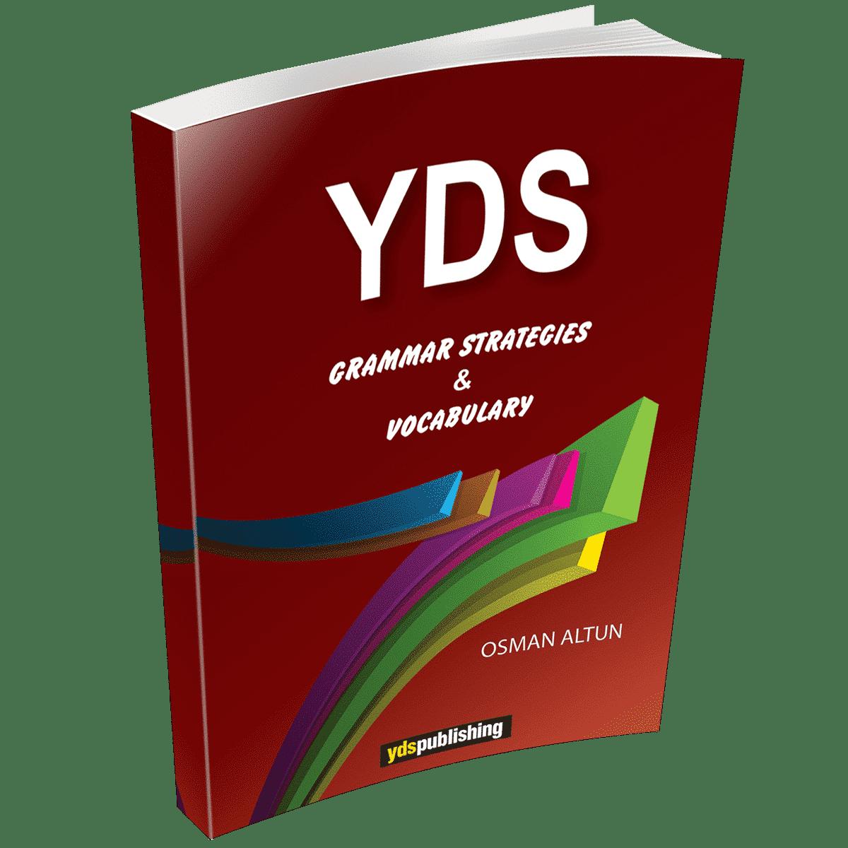 YDS Grammar Strategies & Vocabulary yds grammar strategies & vocabulary -  YDS Grammar Strategies & Vocabulary