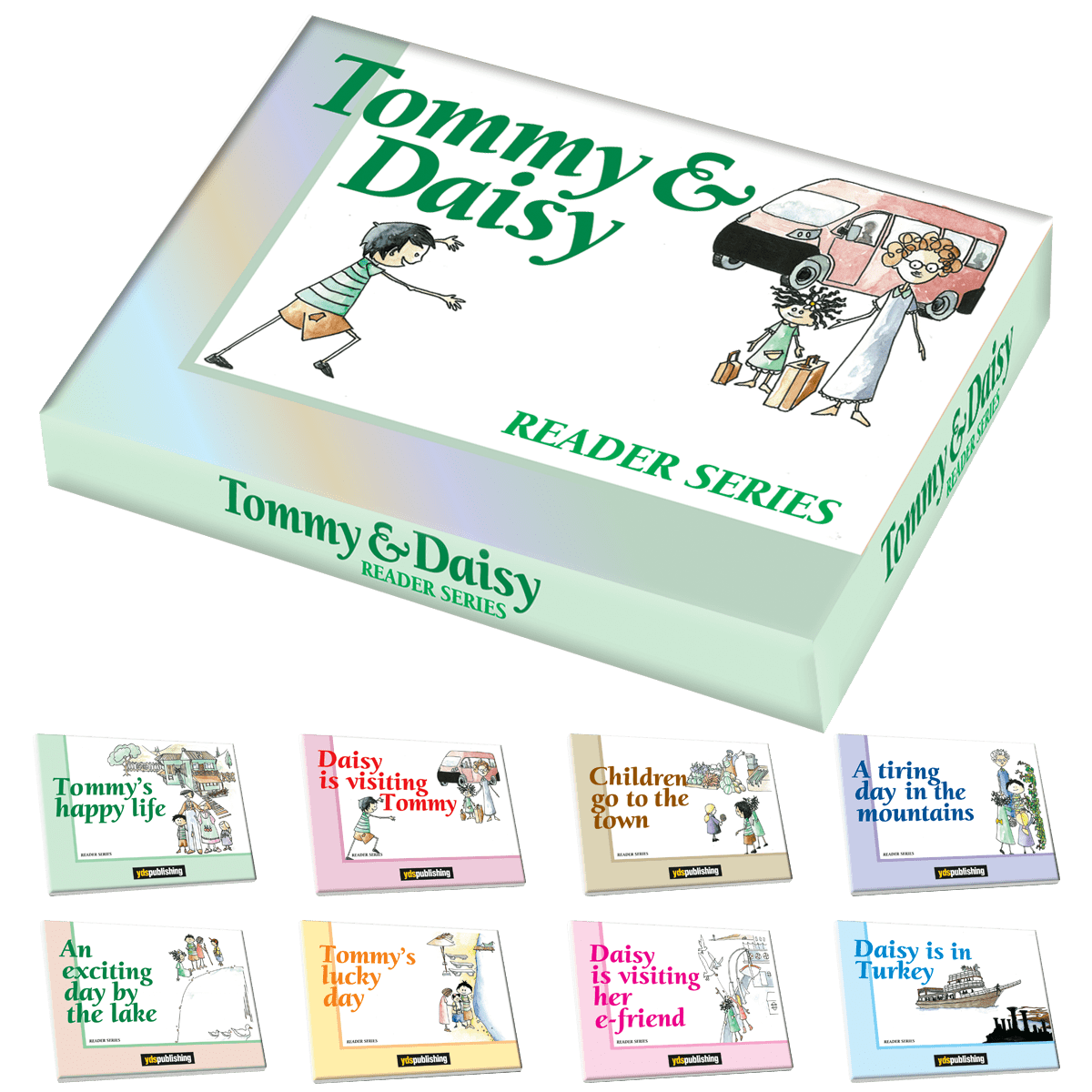 Tommy & Daisy Reader Series tommy & daisy reader series -  Tommy & Daisy Reader Series