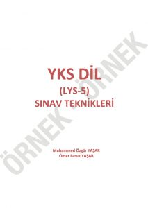 yks dil sınav teknikleri YKS DİL Sınav Teknikleri – 1200 Soruluk YDT İngilizce Soru Bankası yksdil01 213x300