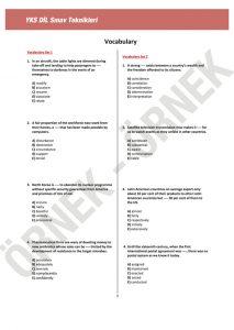 yks dil sınav teknikleri YKS DİL Sınav Teknikleri – 1200 Soruluk YDT İngilizce Soru Bankası yksdil05 213x300