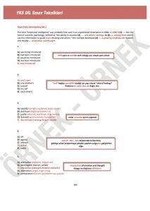 yks dil sınav teknikleri YKS DİL Sınav Teknikleri – 1200 Soruluk YDT İngilizce Soru Bankası yksdil15 213x300
