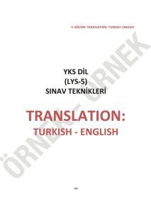 yks dil sınav teknikleri YKS DİL Sınav Teknikleri – 1200 Soruluk YDT İngilizce Soru Bankası yksdil25 213x300