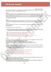 yks dil sınav teknikleri YKS DİL Sınav Teknikleri – 1200 Soruluk YDT İngilizce Soru Bankası yksdil40 213x300