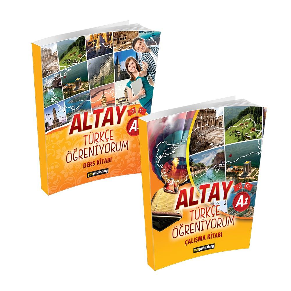 Altay Türkçe Öğreniyorum A1 yabancılara türkçe kitabı a1 -  Altay Türkçe Öğreniyorum A1 Set – Yabancılara Türkçe Öğretimi Kitapları
