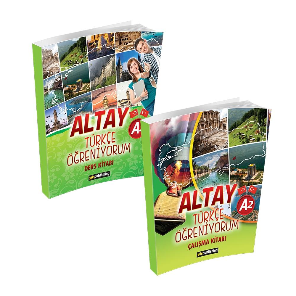 Altay Türkçe Öğreniyorum A2 yabancılara türkçe kitabı a2 Altay Türkçe Öğreniyorum A2 Set – Yabancılara Türkçe Öğretimi Kitapları tlta2set