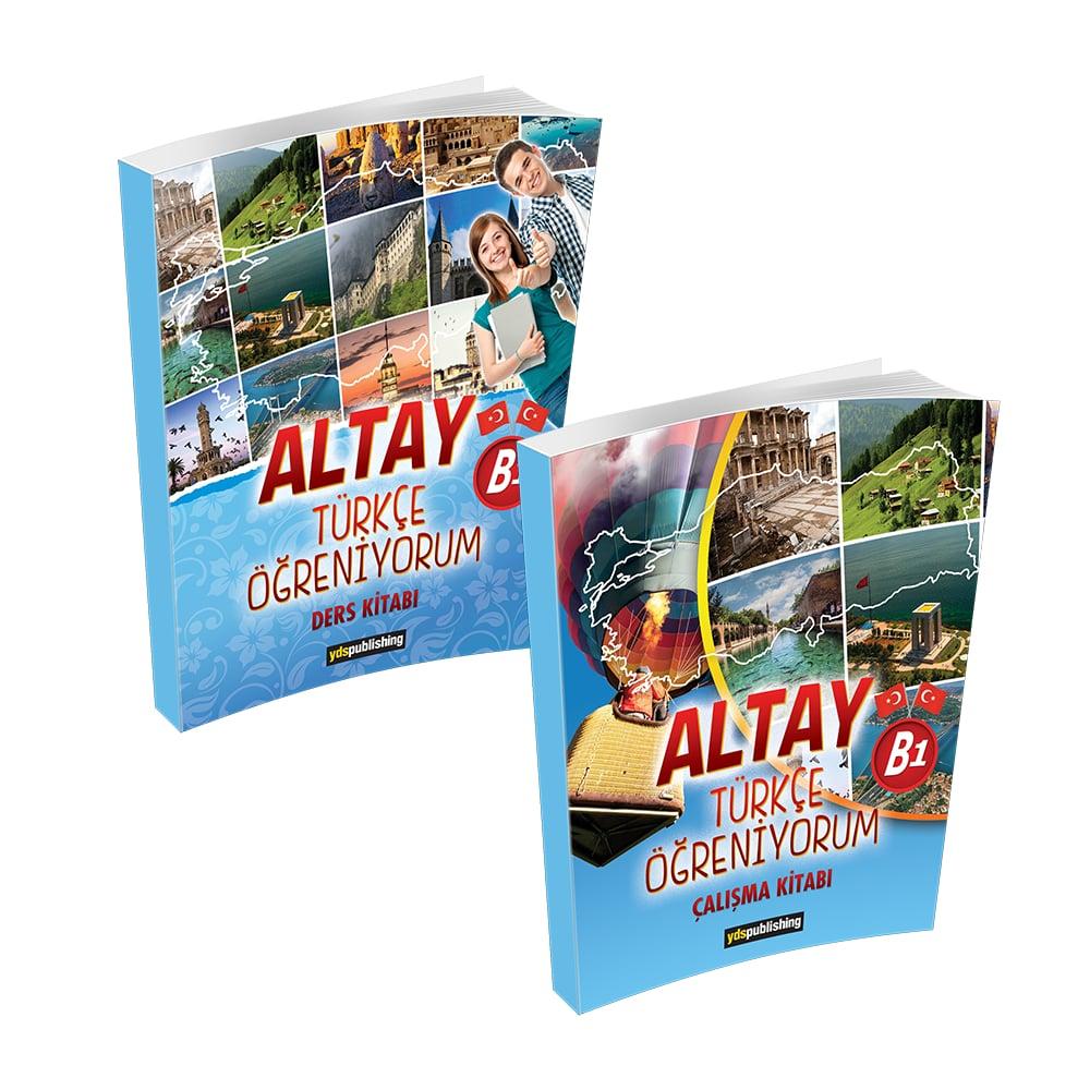 Altay Türkçe Öğreniyorum B1 yabancılara türkçe kitabı b1 -  Altay Türkçe Öğreniyorum B1 Set – Yabancılara Türkçe Öğretimi Kitapları