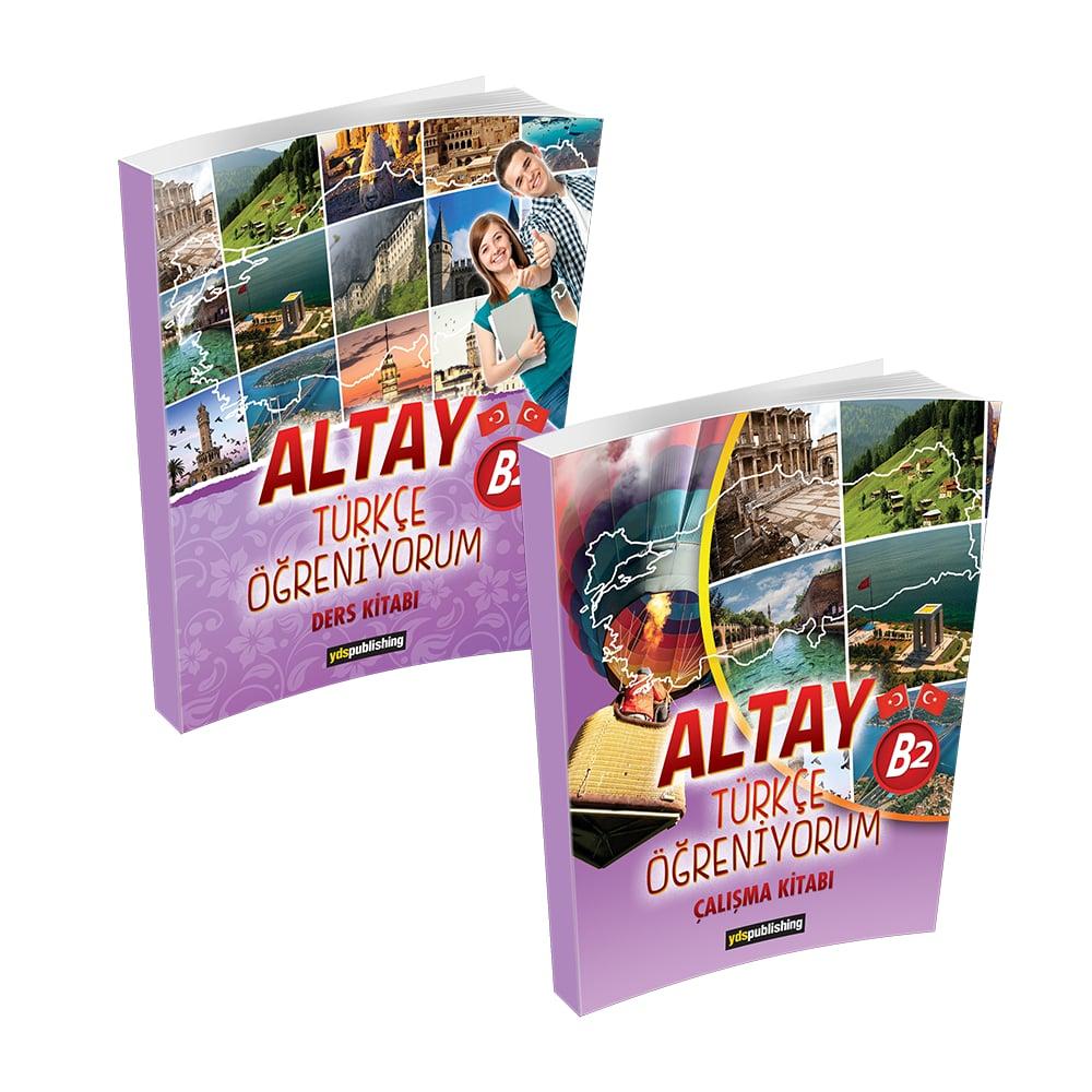 Altay Türkçe Öğreniyorum B2 yabancılara türkçe kitabı b2 -  Altay Türkçe Öğreniyorum B2 Set – Yabancılara Türkçe Öğretimi Kitapları