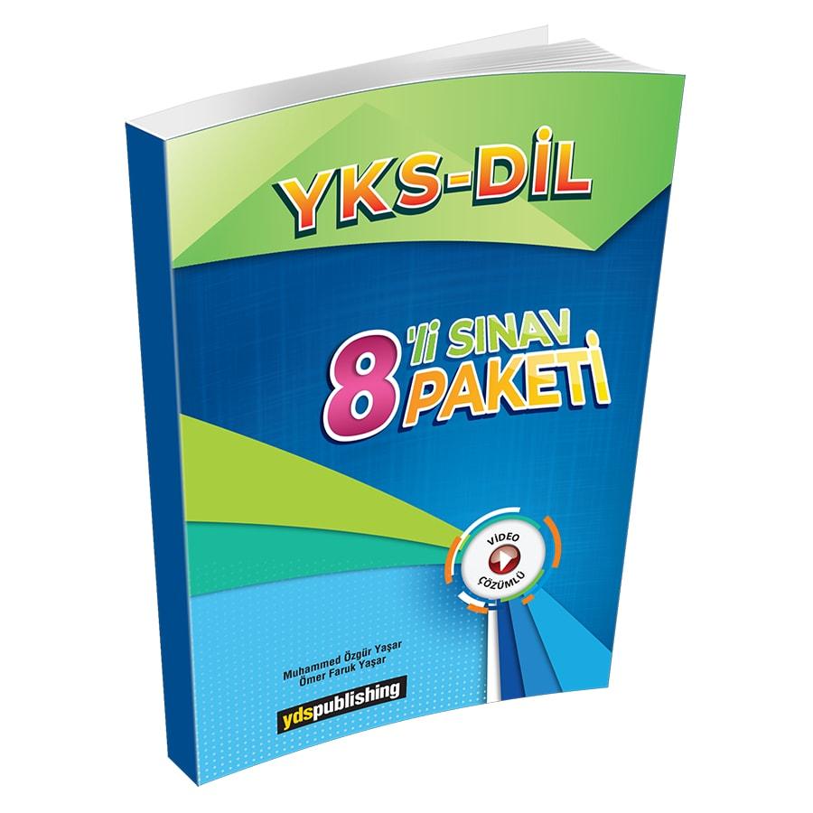 YKS DİL 8'li Sınav Paketi yks dİl 8'li sınav paketi -  YKS DİL 8'li Sınav Paketi- Video çözümlü ve sınavla uyumlu denemeler