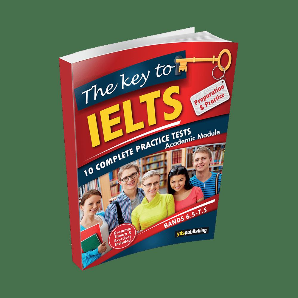 tipdİl Çözümlü denemeler The Key To IELTS – Preparation & Practice – Bands 6.5 – 7.5 keytoielts min